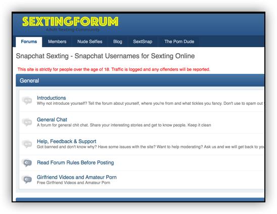 sextingforum porn forum