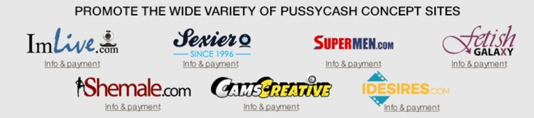 Pussycash review - Adult affiliate network, program for webmasters