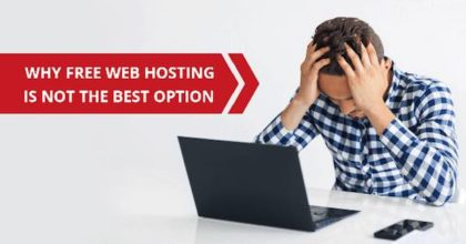 Avoid Free Web Hosting