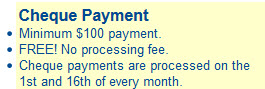juicyads cheque payment requirements