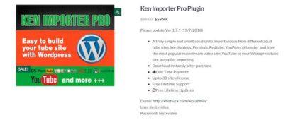Ken Importer Pro Plugin