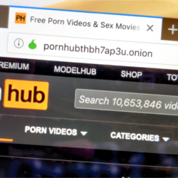 a screenshot of pornhub.com
