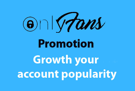 OnlyFans Account Promotion