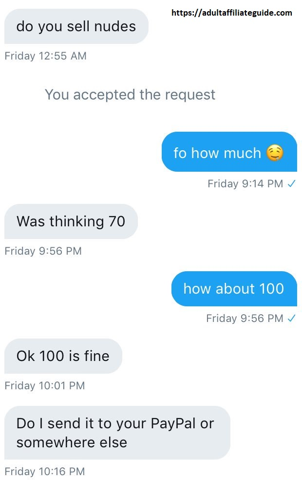 Make $180/day Selling Nudes: Here is How